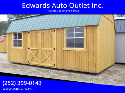 2021 Xx Old Hickory Buildings 10x20 Side Lofted Barn for sale at Edwards Auto Outlet Inc. in Wilson NC