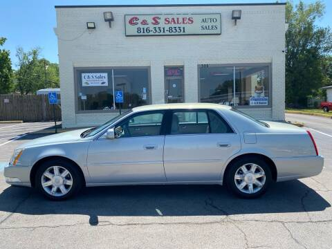 2006 Cadillac DTS for sale at C & S SALES in Belton MO