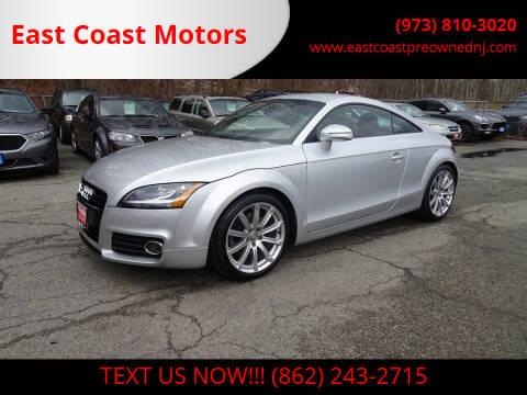 2013 Audi TT for sale at East Coast Motors in Lake Hopatcong NJ