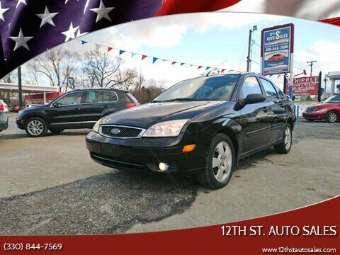 2007 Ford Focus for sale at 12th St. Auto Sales in Canton OH