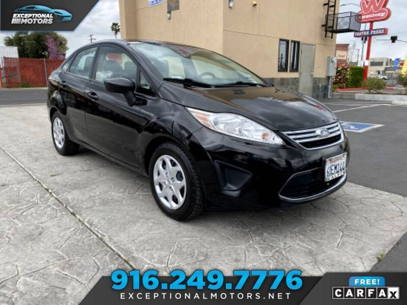 2012 Ford Fiesta for sale at Exceptional Motors in Sacramento CA