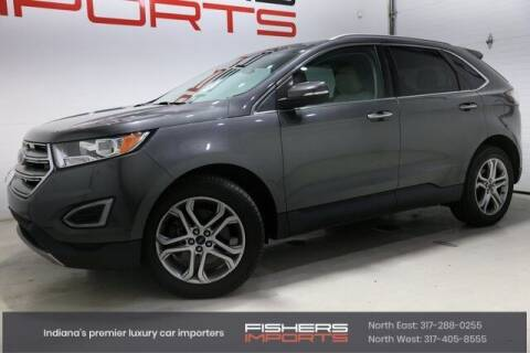 2015 Ford Edge for sale at Fishers Imports in Fishers IN