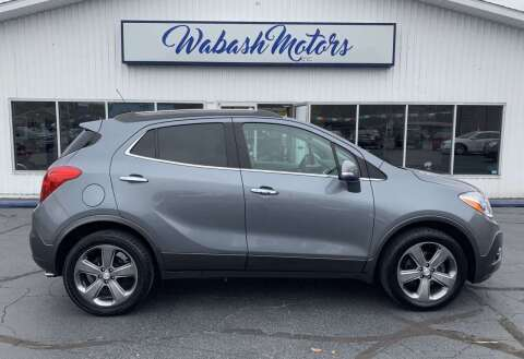 2014 Buick Encore for sale at Wabash Motors in Terre Haute IN