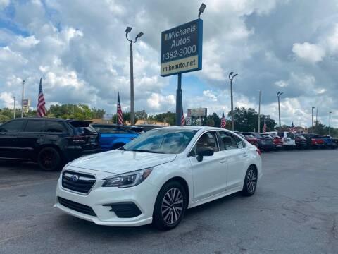 2018 Subaru Legacy for sale at Michaels Autos in Orlando FL
