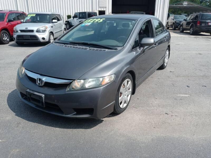 2010 Honda Civic for sale at Mathews Used Cars, Inc. in Crawford GA