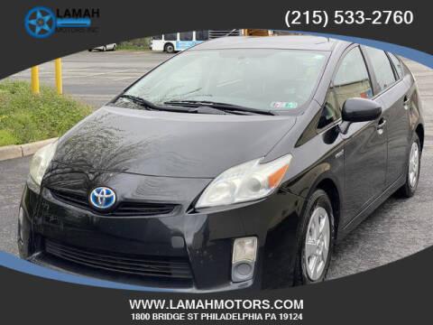2011 Toyota Prius for sale at LAMAH MOTORS INC in Philadelphia PA