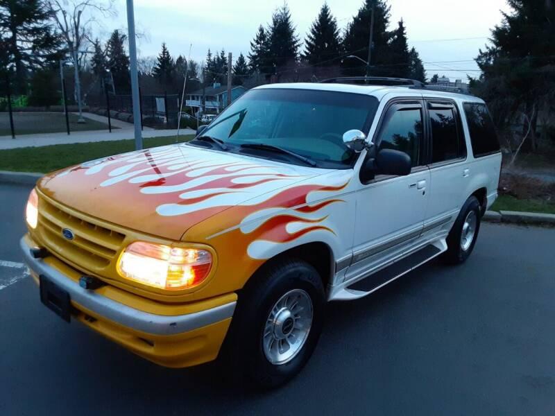 1998 Ford Explorer for sale at METROPOLITAN MOTORS in Kirkland WA
