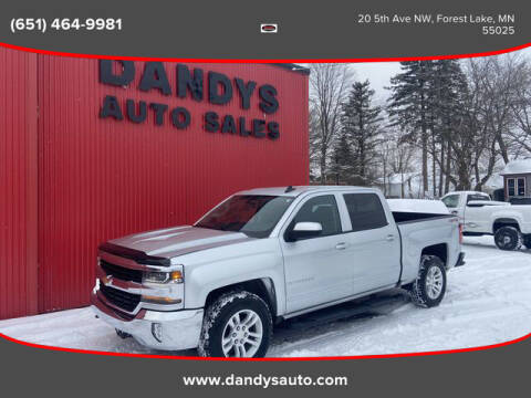 2018 Chevrolet Silverado 1500 for sale at Dandy's Auto Sales in Forest Lake MN