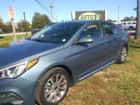 2015 Hyundai Sonata for sale at Auto 1 Madison in Madison GA