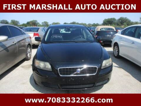 2006 Volvo S40 for sale at First Marshall Auto Auction in Harvey IL