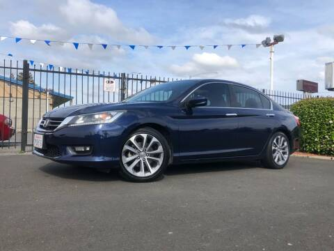 2015 Honda Accord for sale at BOARDWALK MOTOR COMPANY in Fairfield CA