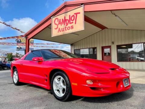 2002 Pontiac Firebird for sale at Sandlot Autos in Tyler TX