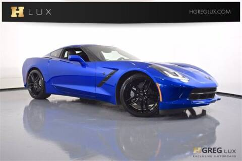 2019 Chevrolet Corvette for sale at HGREG LUX EXCLUSIVE MOTORCARS in Pompano Beach FL