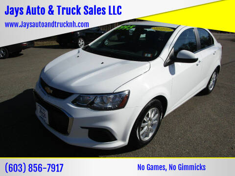 2017 Chevrolet Sonic for sale at Jays Auto & Truck Sales LLC in Loudon NH
