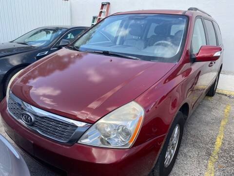 2012 Kia Sedona for sale at America Auto Wholesale Inc in Miami FL