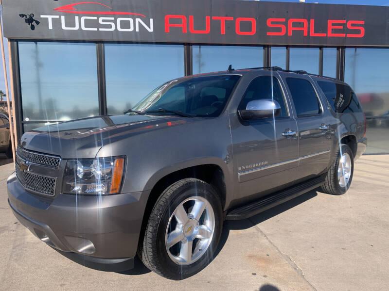 2009 Chevrolet Suburban for sale at Tucson Auto Sales in Tucson AZ