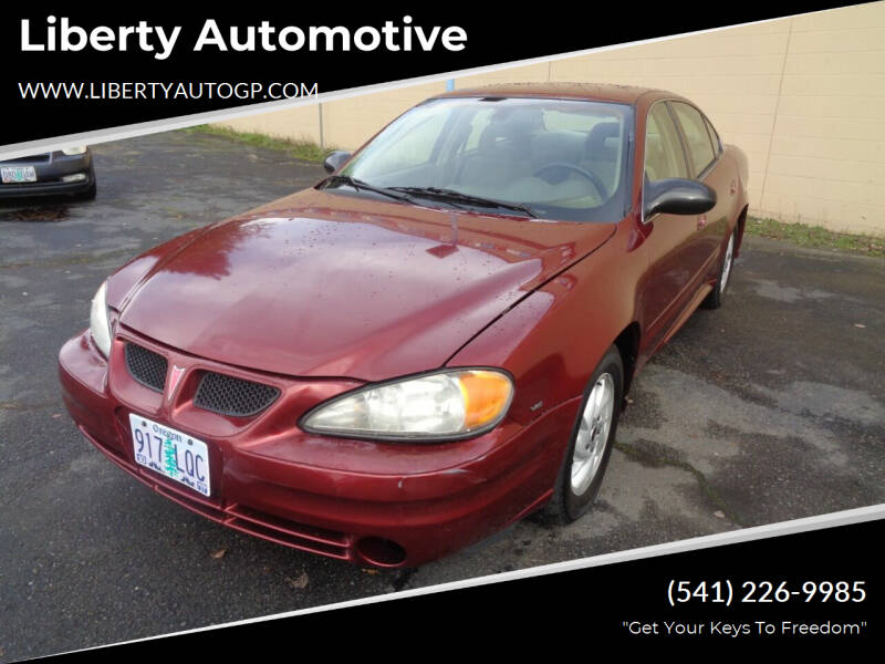 2003 Pontiac Grand Am for sale at Liberty Automotive in Grants Pass OR