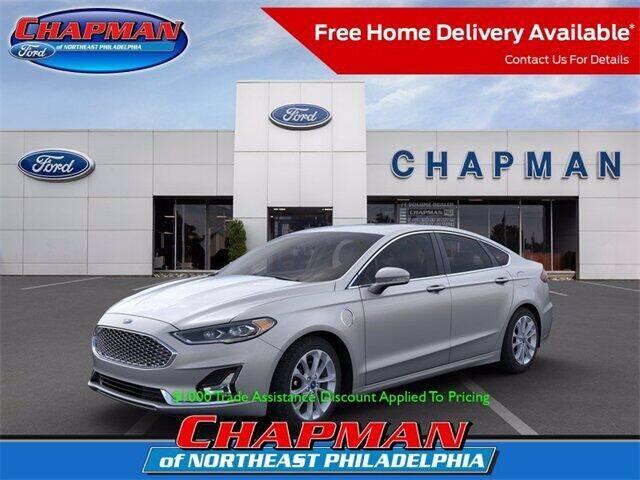 2020 Ford Fusion Energi for sale at CHAPMAN FORD NORTHEAST PHILADELPHIA in Philadelphia PA