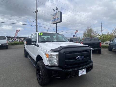 2013 Ford F-250 Super Duty for sale at S&S Best Auto Sales LLC in Auburn WA