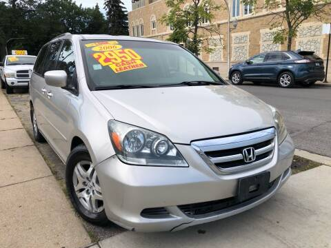 2006 Honda Odyssey for sale at Jeff Auto Sales INC in Chicago IL