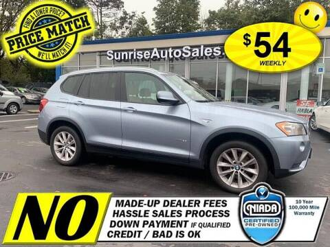 2013 BMW X3 for sale at AUTOFYND in Elmont NY