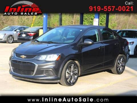 2017 Chevrolet Sonic for sale at Inline Auto Sales in Fuquay Varina NC
