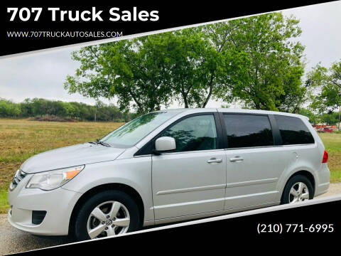 2010 Volkswagen Routan for sale at 707 Truck Sales in San Antonio TX