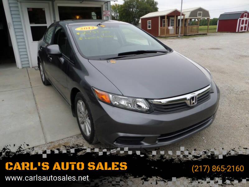 2012 Honda Civic for sale at CARL'S AUTO SALES in Boody IL