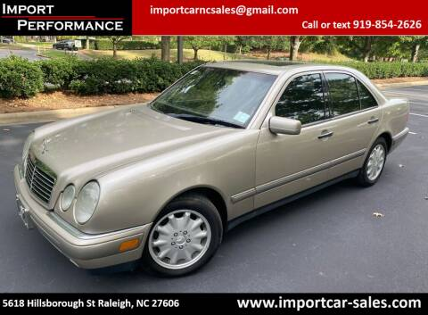 1997 Mercedes-Benz E-Class for sale at Import Performance Sales in Raleigh NC