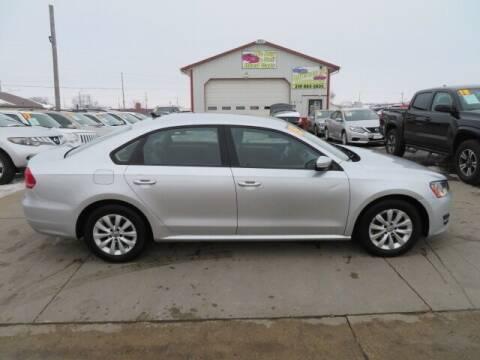 2015 Volkswagen Passat for sale at Jefferson St Motors in Waterloo IA