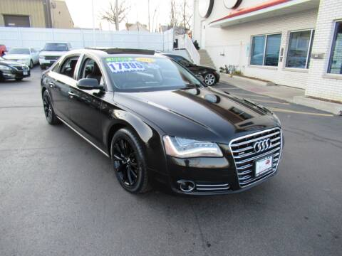 2012 Audi A8 L for sale at Auto Land Inc in Crest Hill IL