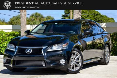 2015 Lexus GS 350 for sale at Presidential Auto  Sales & Service in Delray Beach FL