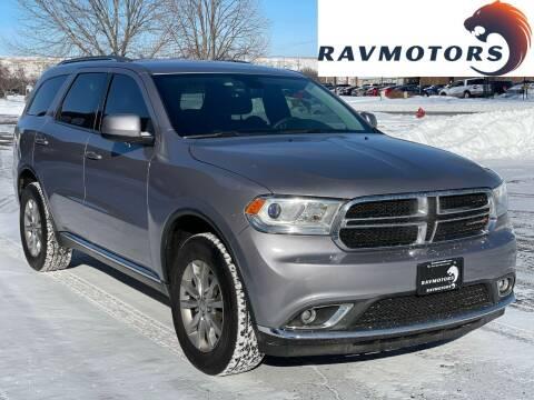 2017 Dodge Durango for sale at RAVMOTORS in Burnsville MN