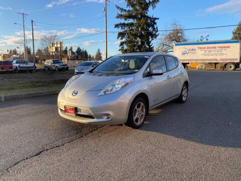 2011 Nissan LEAF for sale at Apex Motors Parkland in Tacoma WA