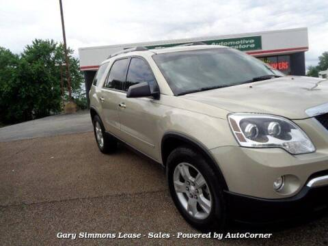 2012 GMC Acadia for sale at Gary Simmons Lease - Sales in Mckenzie TN