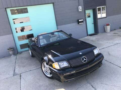 2001 Mercedes-Benz SL-Class for sale at Enthusiast Autohaus in Sheridan IN