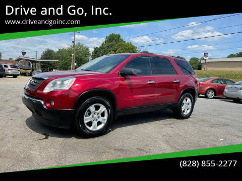 2010 GMC Acadia for sale at Drive and Go, Inc. in Hickory NC