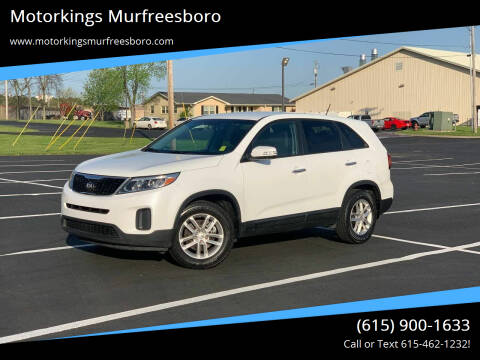 2014 Kia Sorento for sale at Motorkings Murfreesboro in Murfreesboro TN