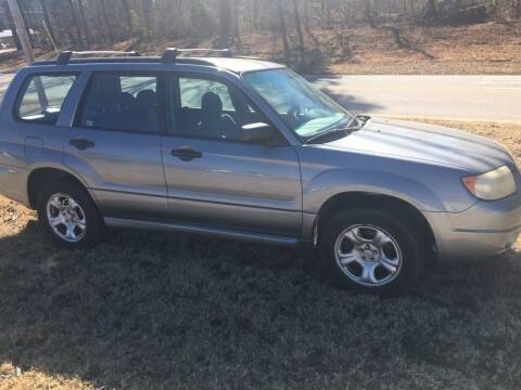 2007 Subaru Forester for sale at Mocks Auto in Kernersville NC