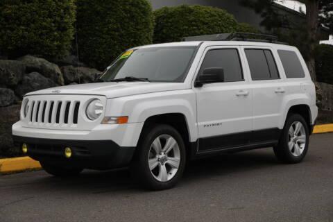 2015 Jeep Patriot for sale at SS MOTORS LLC in Edmonds WA