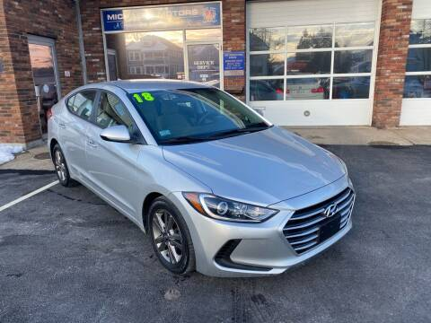 2018 Hyundai Elantra for sale at Michaels Motor Sales INC in Lawrence MA