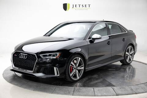 2017 Audi RS 3 for sale at Jetset Automotive in Cedar Rapids IA