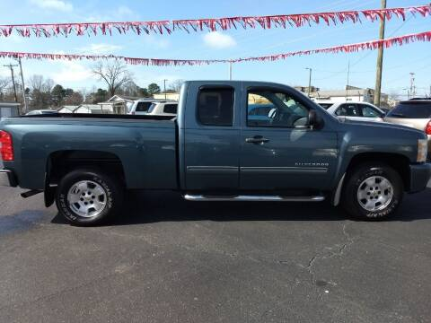 2011 Chevrolet Silverado 1500 for sale at Kenny's Auto Sales Inc. in Lowell NC