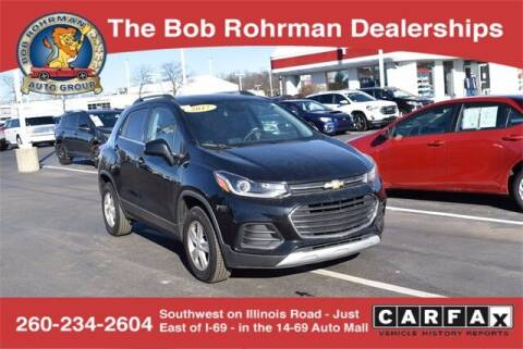 2017 Chevrolet Trax for sale at BOB ROHRMAN FORT WAYNE TOYOTA in Fort Wayne IN