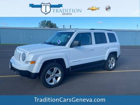 2012 Jeep Patriot for sale at Tradition Chevrolet Buick in Geneva NY