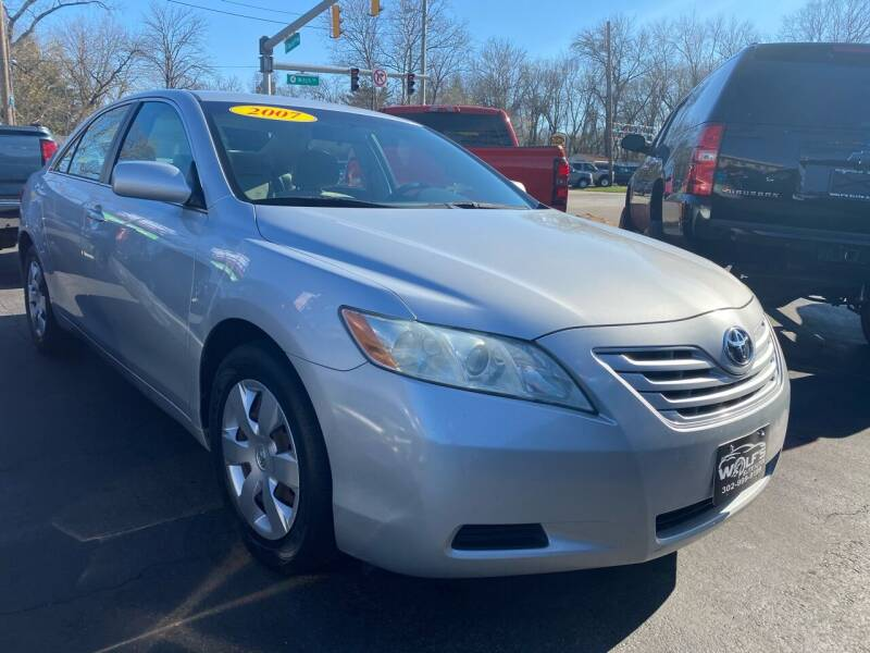 2007 Toyota Camry for sale at WOLF'S ELITE AUTOS in Wilmington DE