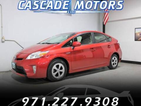 2014 Toyota Prius for sale at Cascade Motors in Portland OR