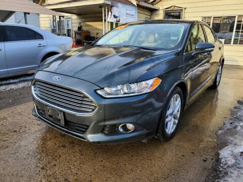 2015 Ford Fusion for sale at Auto Town Used Cars in Morgantown WV
