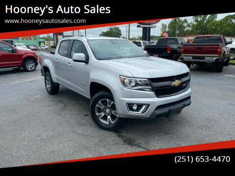 2016 Chevrolet Colorado for sale at Hooney's Auto Sales in Theodore AL