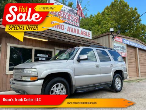 2005 Chevrolet Tahoe for sale at Oscar's Truck Center, LLC in Houston TX